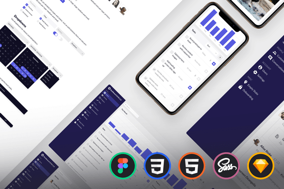 Dashboard UI Kit 2.0